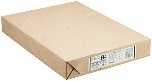 コクヨ KB用紙 低白色再生紙 B4 500枚 KB-SS34