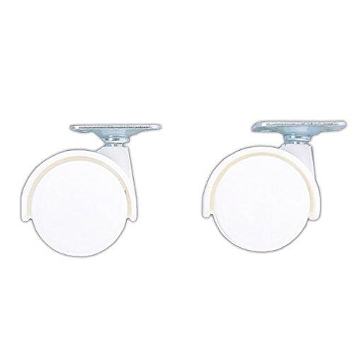 RoomClip商品情報 - アイリスオーヤマ カラーボックス用キャスター2個セット ホワイト CXK-2