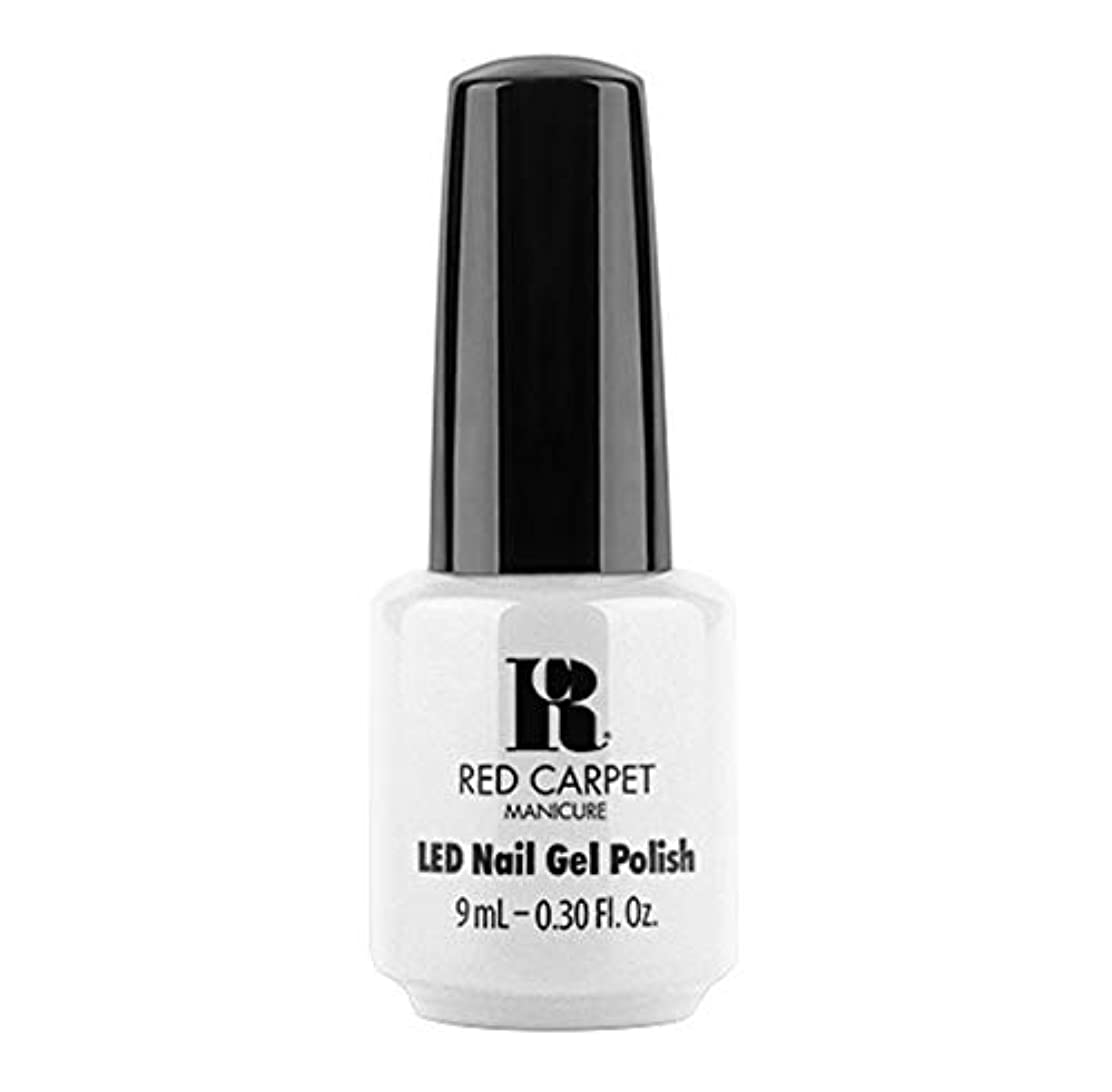 場所与えるベットRed Carpet Manicure - LED Nail Gel Polish - Get My Pearls - 9ml / 0.30oz