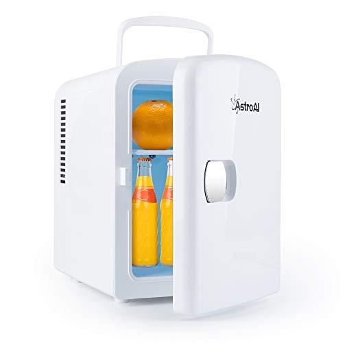 AstroAI 冷温庫 ミニ冷蔵庫 4L 小型でポータブル 家庭 車載両用 保温 保冷 2電源式 便利な携帯式 コンパクト 小型冷蔵庫 日本語説明書 3年保証付き