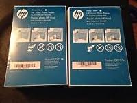 2個パックHP 4X 6光沢Vividフォトペーパー180シートcg937a縁なし