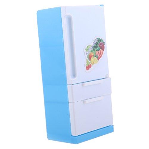 Baoblaze ミニチュア 冷蔵庫モデル プラスチック製 ...