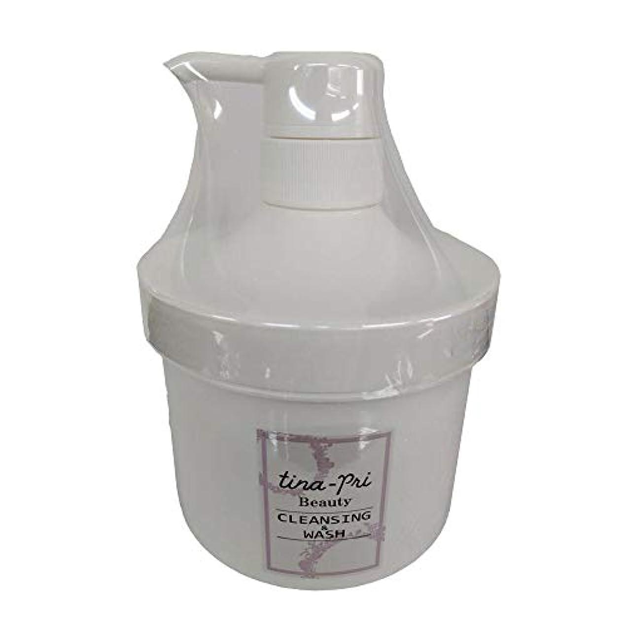 皮グレー消毒するティナプリビューティ 基礎化粧品シリーズ クレンジング&ウォッシュ 500g(業務タイプ)