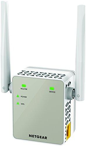 NETGEAR WiFi中継機/802.11ac/デュアルバンド合計1200Mbps/コンセント直挿し/中継速度の低下防止機能 EX6120-100JPS