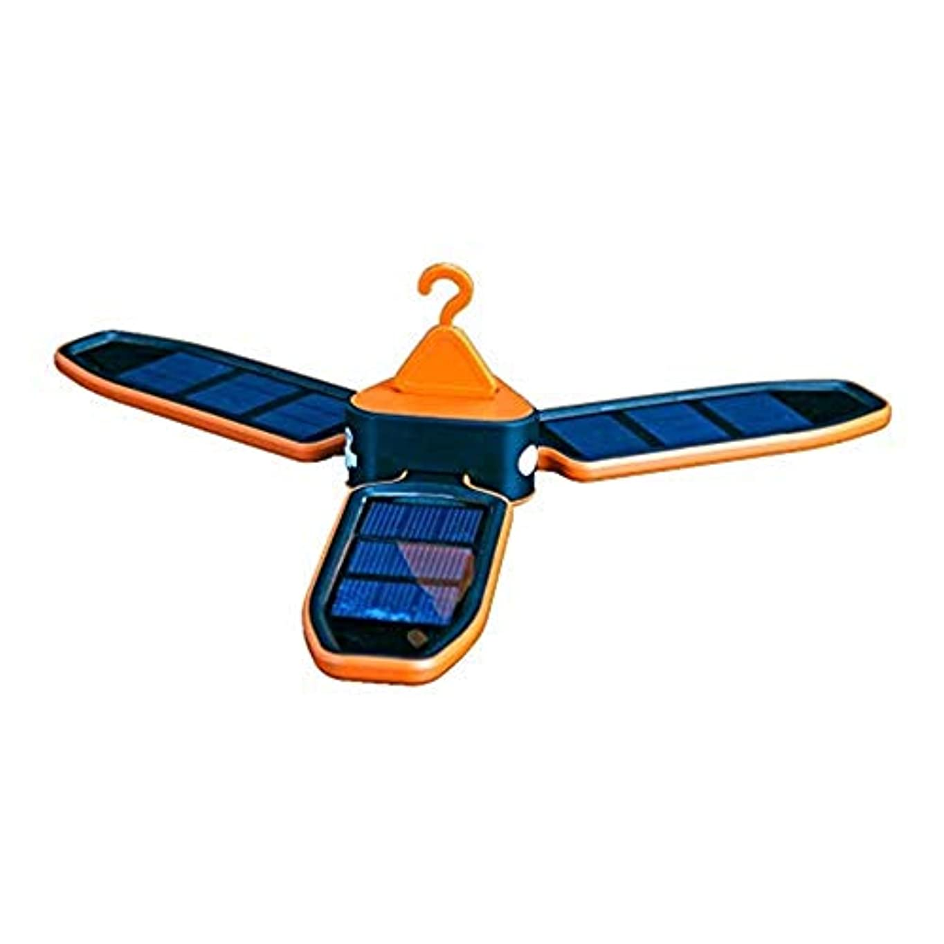 スクラップブック文明化する読者ハンディライト ソーラーライト屋外用モーションセンサーライト、高効率ソーラーパネル付き、防水IP65、広い照射角、設置が簡単、キャンプ用、緊急用、中庭、携帯用照明