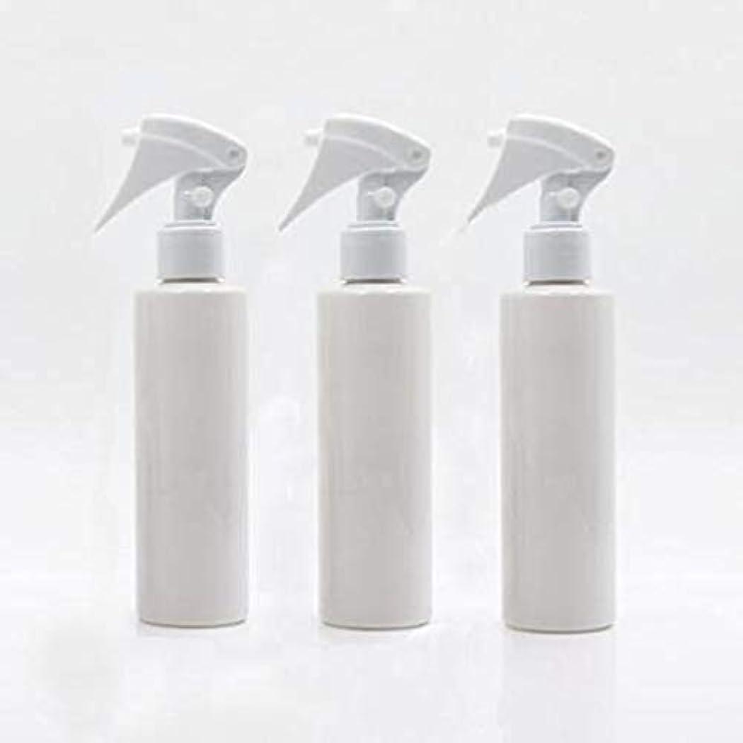 面一族またはFlymylion 極細のミストを噴霧する スプレーボトル 詰め替え容器 200ml 3本セット (ホワイト)