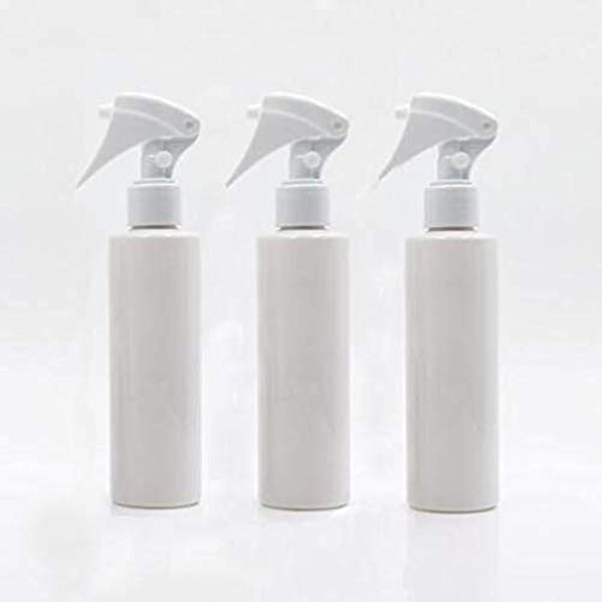 色合いマリン豊富Flymylion 極細のミストを噴霧する スプレーボトル 詰め替え容器 200ml 3本セット (ホワイト)