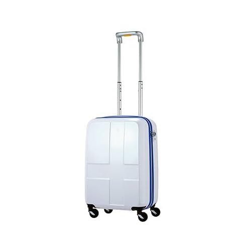 イノベーター スーツケース ファスナーキャリー 単色タイプ 【48cm】 INV48ブライトホワイト