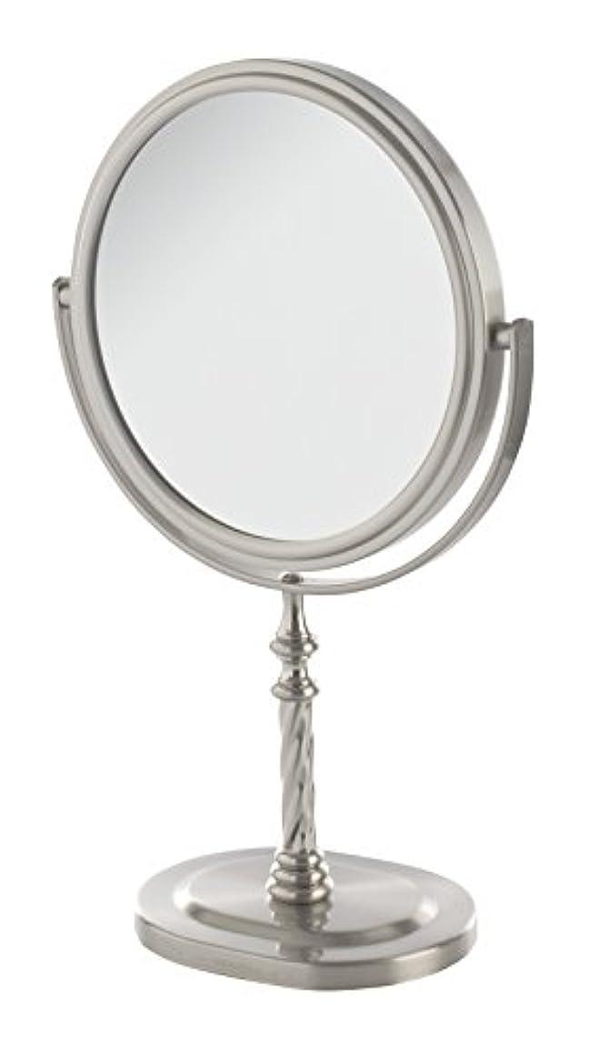 繰り返しなめらか米国Jerdon(ジェルドン) / JP526N (ニッケル) 拡大鏡 [鏡面 直径15cm] 【5倍率/等倍率】 卓上型テーブルミラー