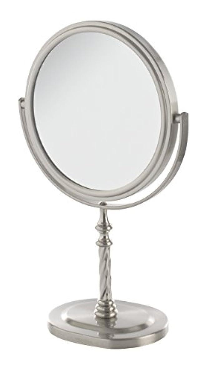 新しさ天窓盟主Jerdon(ジェルドン) / JP526N (ニッケル) 拡大鏡 [鏡面 直径15cm] 【5倍率/等倍率】 卓上型テーブルミラー