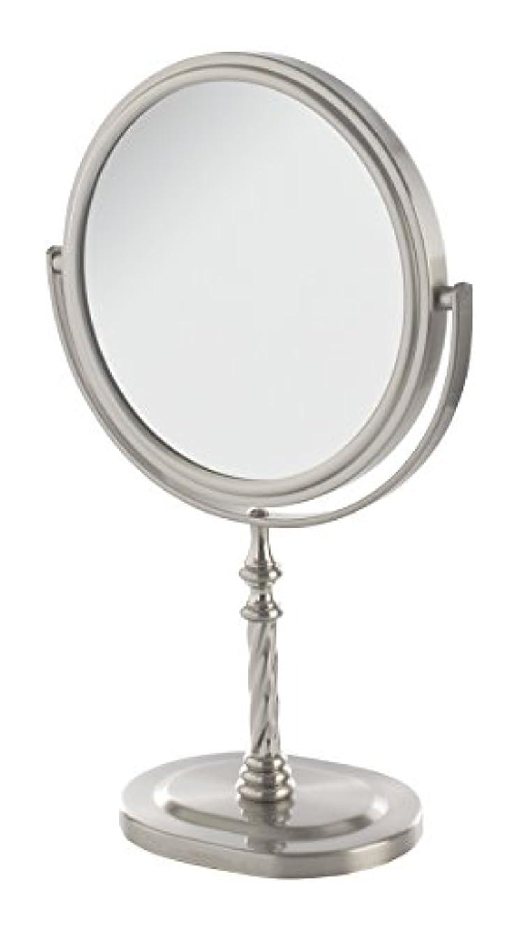 封建騒乱怒っているJerdon(ジェルドン) / JP526N (ニッケル) 拡大鏡 [鏡面 直径15cm] 【5倍率/等倍率】 卓上型テーブルミラー