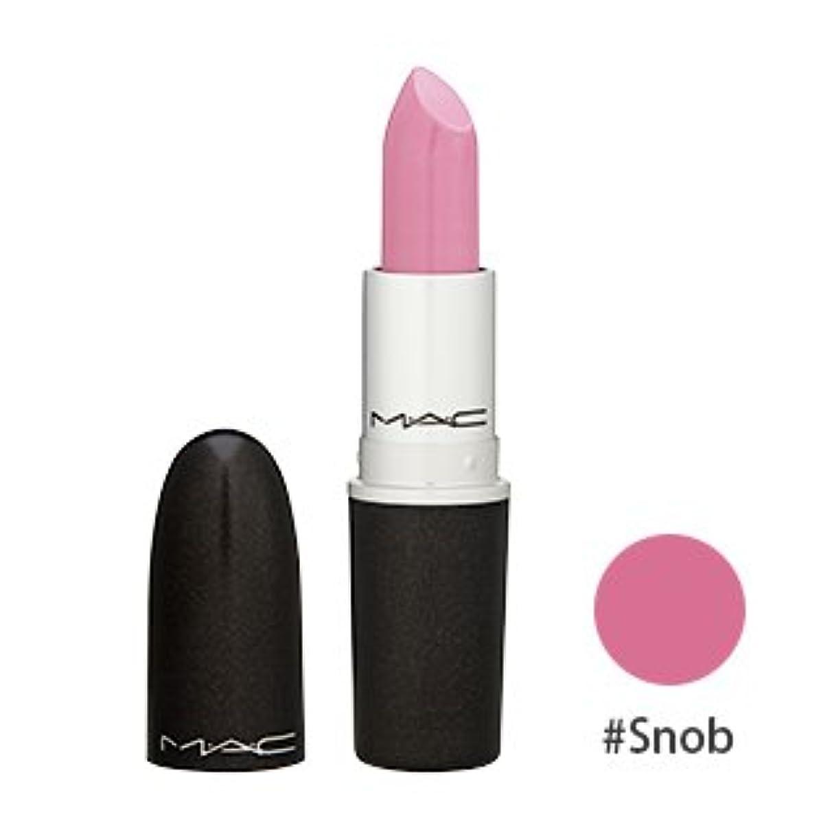 マック(M?A?C(MAC)) リップスティック #Snob(明るいピンク)[サテン] 3g [海外直送品] [並行輸入品]