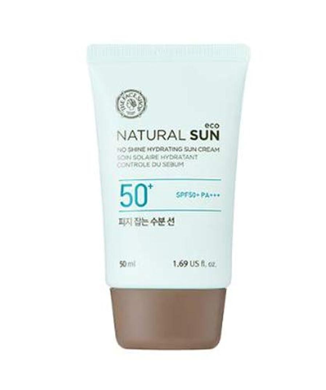 排他的エミュレートする国際ザ?フェイスショップ ネチュロルソンエコフィジーサン?クリーム SPF50+PA+++50ml 韓国コスメ、The Face Shop Natural Sun Eco No Shine Hydrating Sun Cream SPF50+ PA+++ 50ml Korean Cosmetics [並行輸入品]
