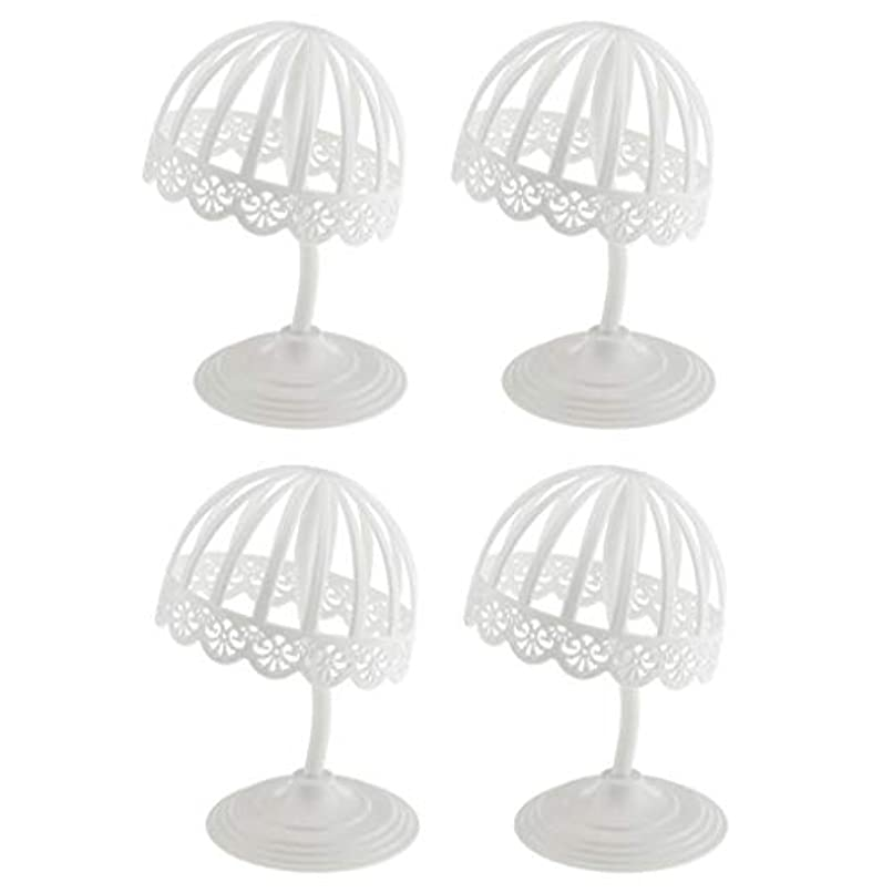 枯渇するシャワーペルメルT TOOYFUL ハットホルダー 帽子 かつら ラック スタンド キャップ ディスプレイ ホルダー 収納展示 4個入り