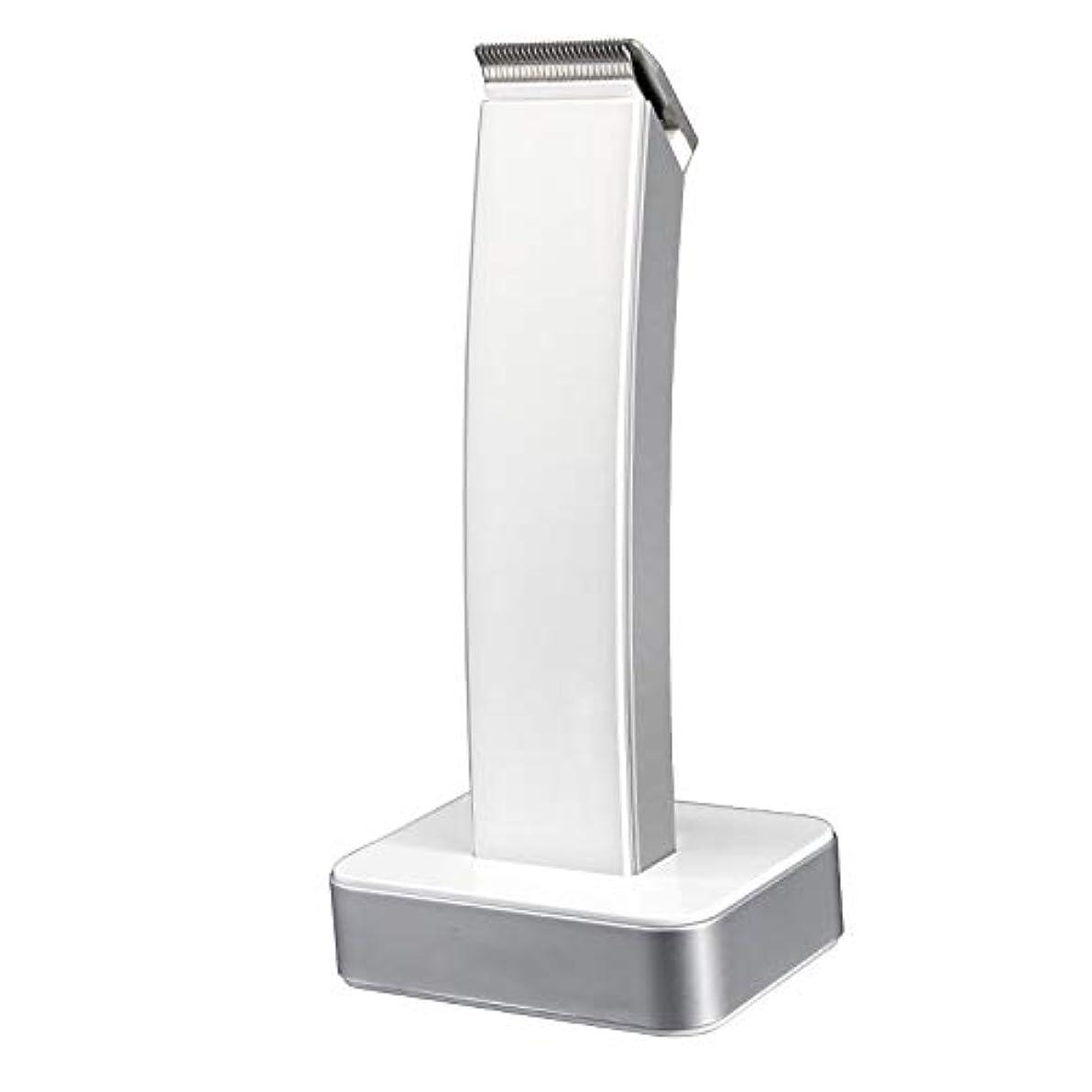 リーガンメタリックトリプル男性用電気シェーバー髭トリマー充電式ヘアトリマーコードレスバリカン電気シェーバーボディトリマーキット(交換可能なT/Uブレード付き)、5ブレードコム、クリーニングブラシ