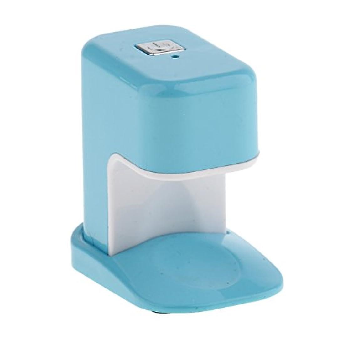 アーサーコナンドイルブロッサムブラウンBaosity ネイルドライヤー USBケーブル ミニ ABS製 3W LED電球 ランプ ポケット アクリル UV プリセット30秒タイマーON / OFF 3色選べ - 青