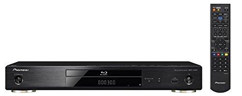 パイオニア Pioneer ブルーレイプレーヤー 4Kアップスケーリング/ブルーレイディスク対応/DVDディスク対応/3D対応/ネットワーク機能対応/音声専用DAC搭載 ブラック  BDP-X300(B) 【国内正規品】
