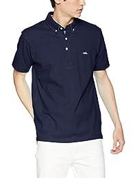 (クリフメイヤー) KRIFF MAYER マルチステッチ ポロシャツ メンズ 半袖 ボタンダウン クールビズ 綿100% 1655110