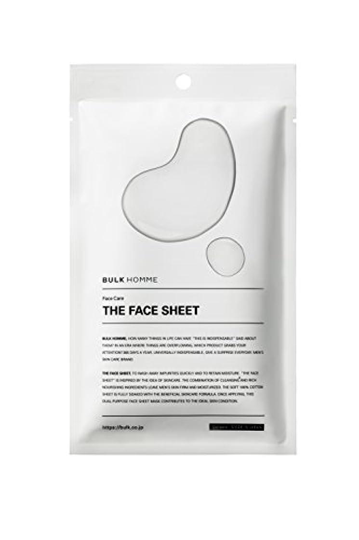 保険過ち空のバルクオム THE FACE SHEET フェイスシート(低刺激 拭き取り化粧水)10枚
