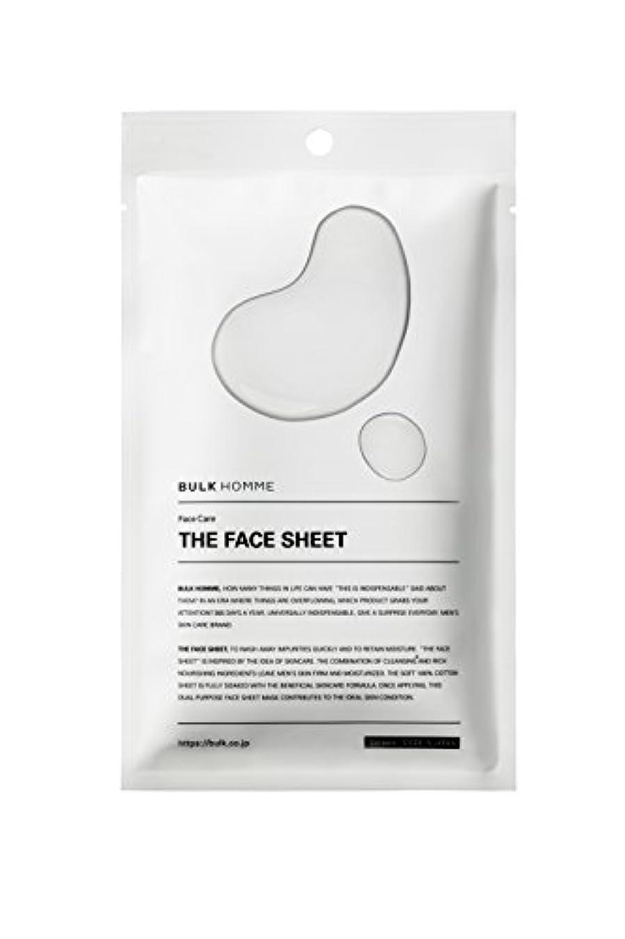 知る資本主義インフラバルクオム THE FACE SHEET フェイスシート(低刺激 拭き取り化粧水)10枚