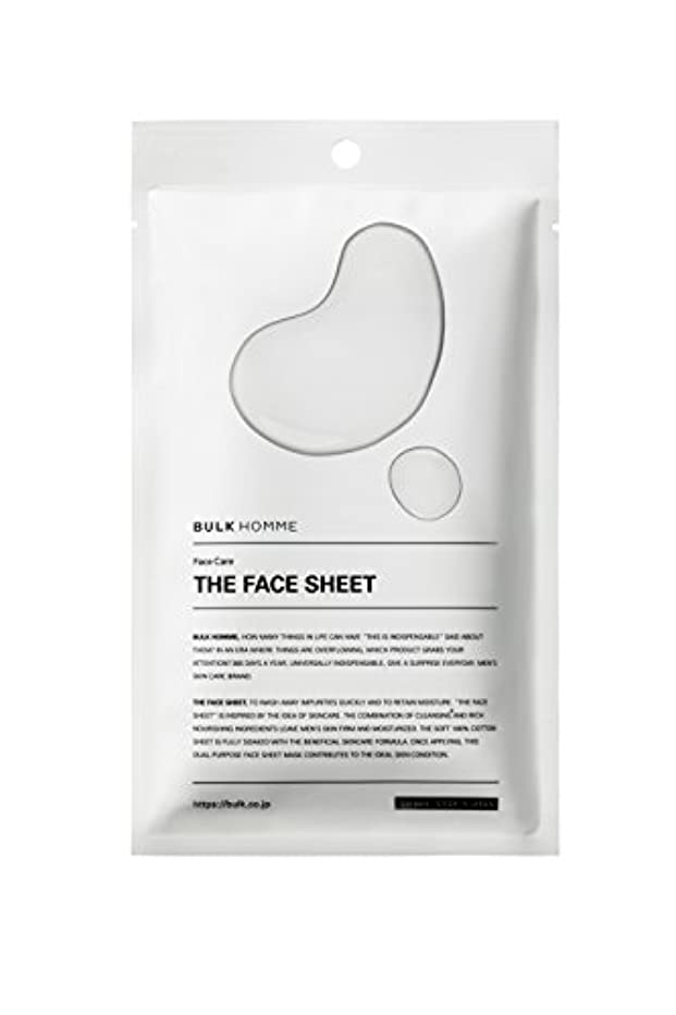 ミサイル貞からかうバルクオム THE FACE SHEET フェイスシート(低刺激 拭き取り化粧水)10枚