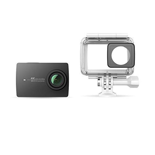 YI Technology YI 4K アクションカメラ 40m防水ケース同梱 【日本語対応】【正規サポート付き】 90052