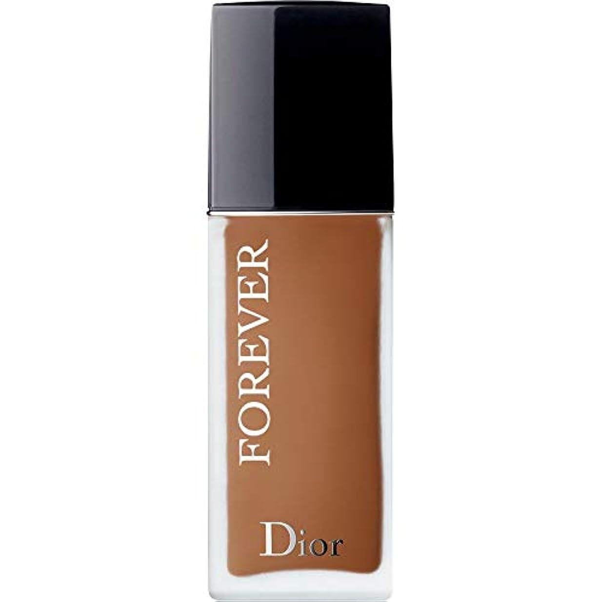 苦しみ対処ある[Dior ] ディオール永遠皮膚思いやりの基盤Spf35 30ミリリットルの6N - ニュートラル(つや消し) - DIOR Forever Skin-Caring Foundation SPF35 30ml 6N -...