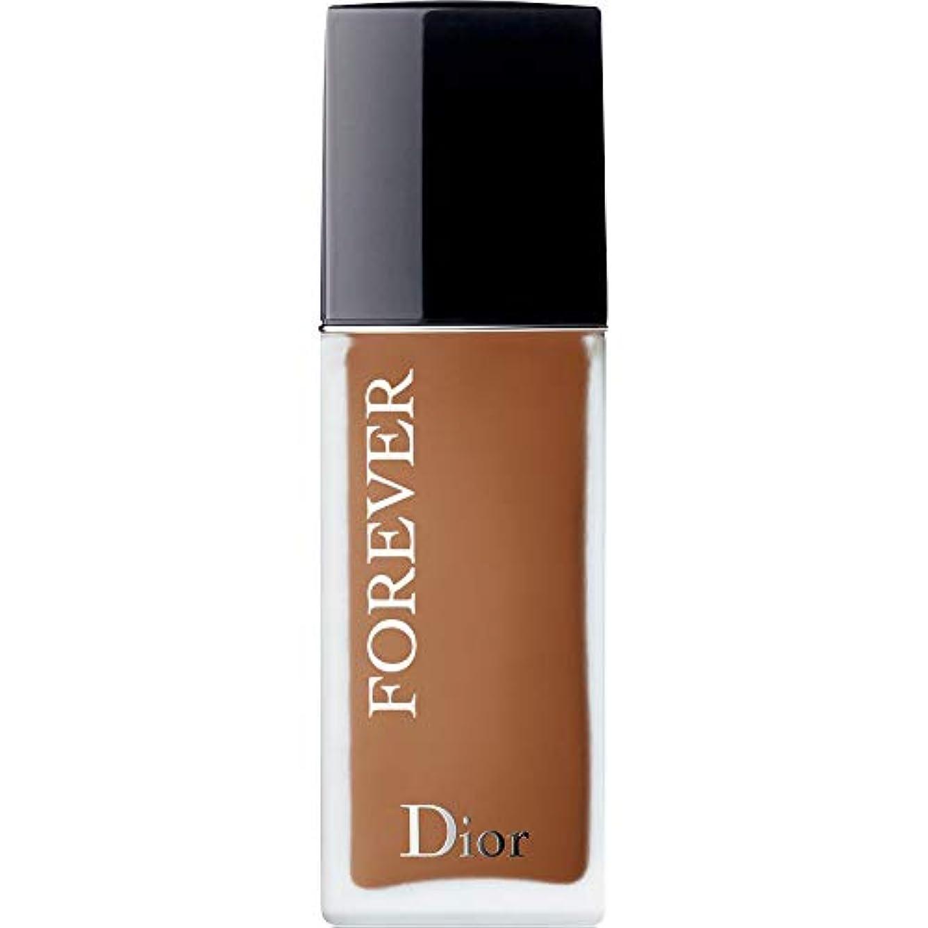 日付甘味伴う[Dior ] ディオール永遠皮膚思いやりの基盤Spf35 30ミリリットルの6N - ニュートラル(つや消し) - DIOR Forever Skin-Caring Foundation SPF35 30ml 6N -...