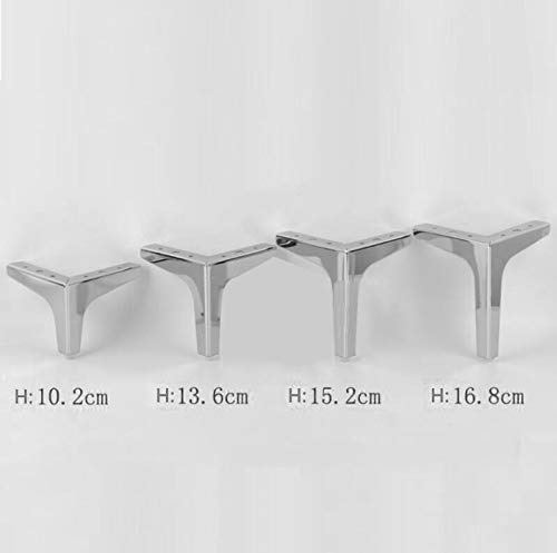 Accessories DIY Metal Sofa Legs, Black/Silver, Super Capacity