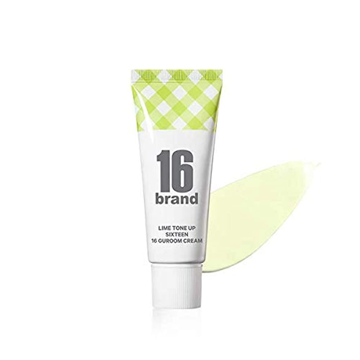 ナインへ開発十分な16 Brand Sixteen Guroom Lime Tone Up Cream * 30ml (tube type) / 16ブランド シックスティーン クルム ライムクリーム SPF30 PA++ [並行輸入品]