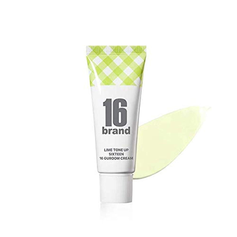 くるみ煙代わって16 Brand Sixteen Guroom Lime Tone Up Cream * 30ml (tube type) / 16ブランド シックスティーン クルム ライムクリーム SPF30 PA++ [並行輸入品]