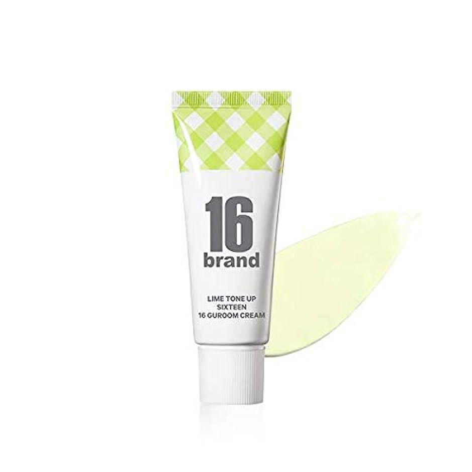 勇気のある傾斜区画16 Brand Sixteen Guroom Lime Tone Up Cream * 30ml (tube type) / 16ブランド シックスティーン クルム ライムクリーム SPF30 PA++ [並行輸入品]