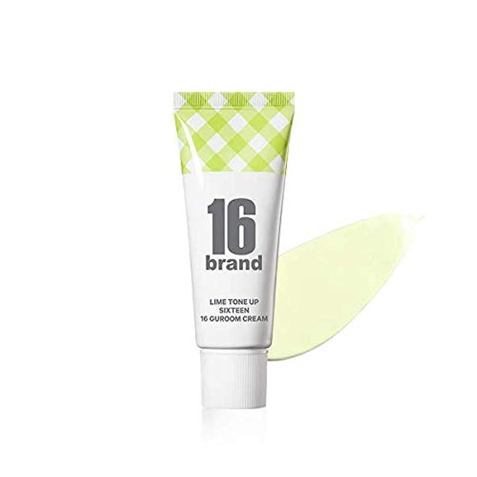 においアリ我慢する16 Brand Sixteen Guroom Lime Tone Up Cream * 30ml (tube type) / 16ブランド シックスティーン クルム ライムクリーム SPF30 PA++ [並行輸入品]