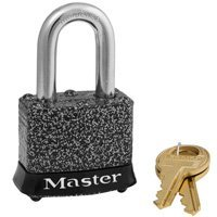 masterlockproducts Padlockスチール1–1/ 8in Vrtcl KD , Sold as 1カラット