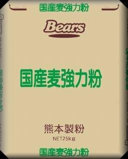 国産 【 強力粉 】 小麦パン用粉 国産麦強力粉 25kg 業務用 小麦粉