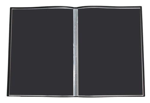 【グリーンウィーク】B3 クリア ファイル ポケット20枚(収納40枚)