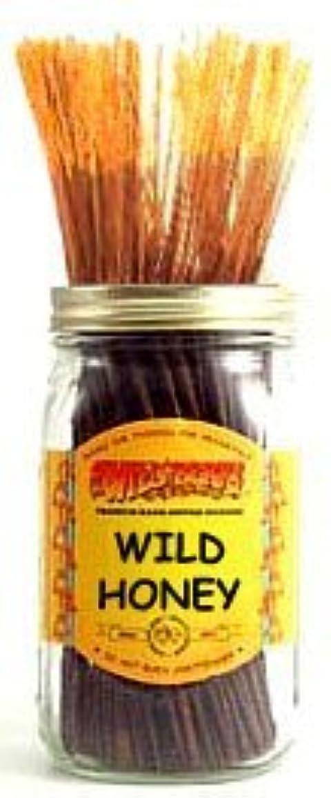 気配りのあるぼんやりしたギャンブルWild Honey - 100 Wildberry Incense Sticks by Wild Berry
