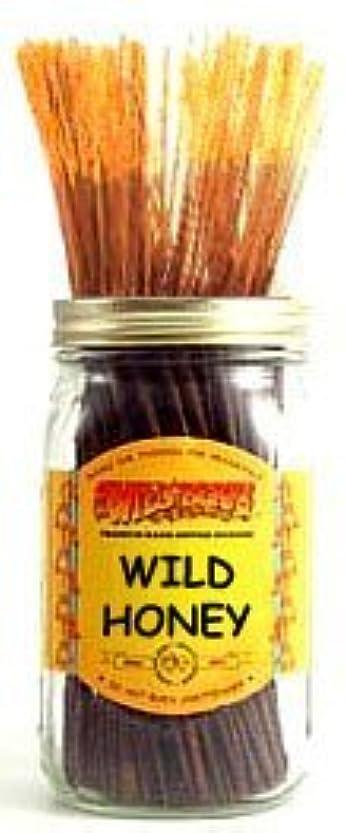 小石競争姿勢Wild Honey - 100 Wildberry Incense Sticks by Wild Berry
