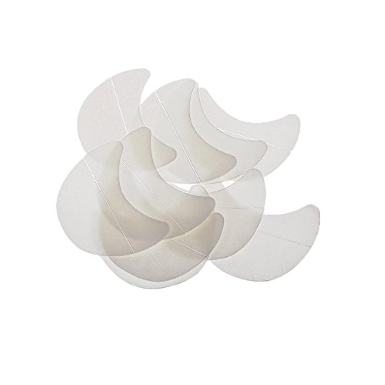 密スノーケル引くKimyuo アイパッドの下の10個の紙のパッチまつげエクステンションのヒントステッカーラップ化粧