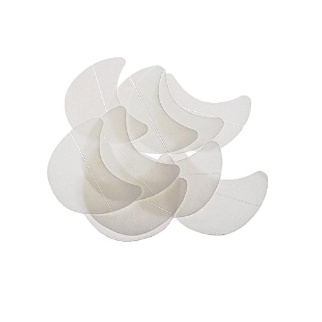 どっち飼い慣らす自殺Kimyuo アイパッドの下の10個の紙のパッチまつげエクステンションのヒントステッカーラップ化粧
