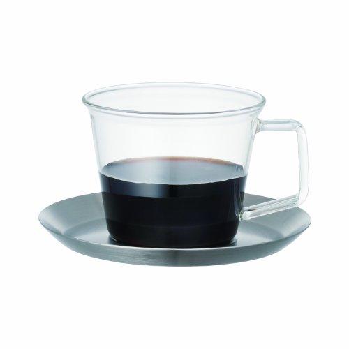 キントー『CASTコーヒーカップ&ソーサーステンレス』