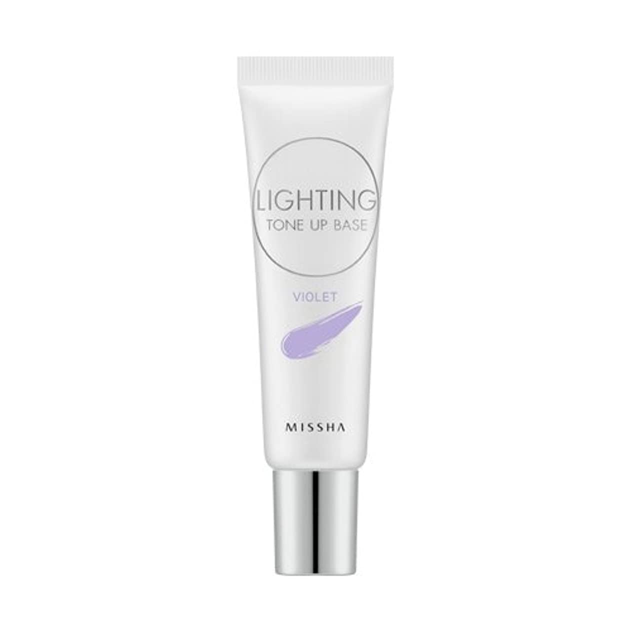 鯨失われた独立してMISSHA Lighting Tone Up Base 20ml/ミシャ ライティング トーン アップ ベース 20ml (#Violet)