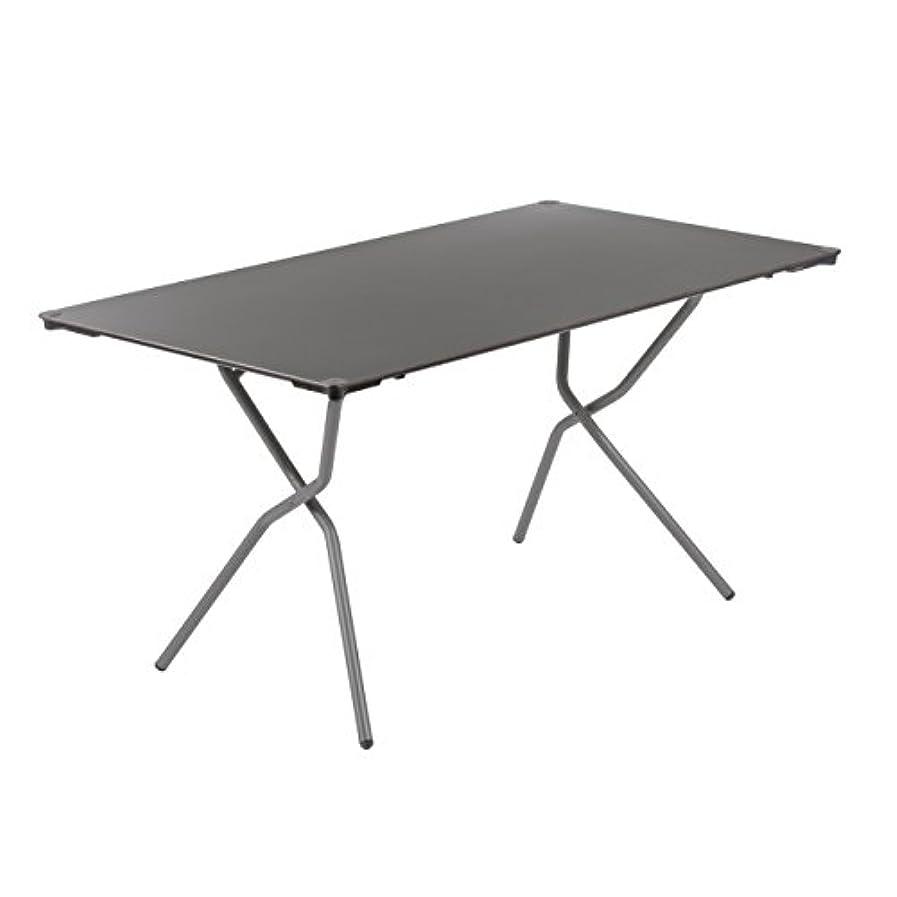 Lafuma(ラフマ) テーブル 折りたたみ (ANYTIME SQUARE TABLE 139×79cm) LFM2651 グレー