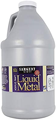 Sargent Art 22-2782 Gallon Standard Colors Acrylic Paint, Silver