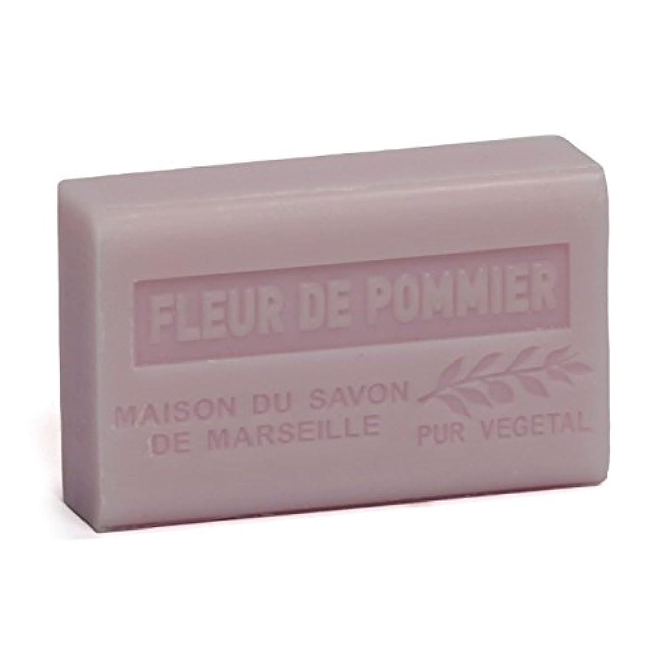 ブーストマナー食器棚Savon de Marseille Soap Apple Blossom Shea Butter 125g
