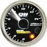 SP武川 φ48スモール DNタコメーター (DC12V専用/ホワイトLED/白指針)