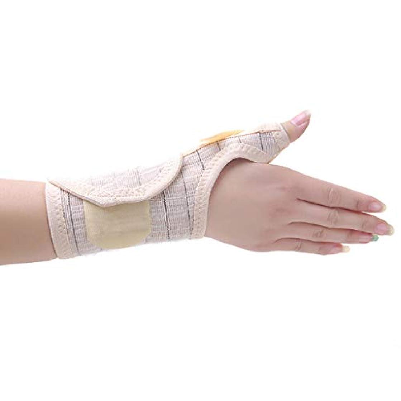 打撃サミットどきどき手首のストラップ、ワンサイズ、ハンドサポート、左手/右手、手首を保護、腿を捻挫、手首をサポート、手根管、関節炎。