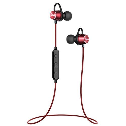 Mpow Bluetooth イヤホン ブルートゥース ヘッドホン IPX6防水仕様 ワイヤレス マグネット搭載 スポーツ ヘッドセット 6時間連続再生可能 内蔵マイク搭載 iPhone、Android各種対応