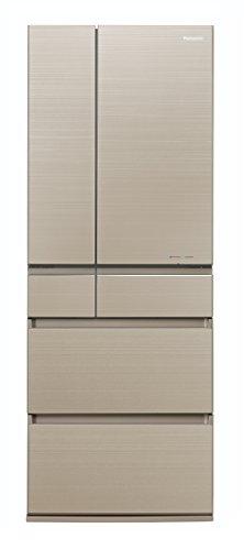 パナソニック 冷蔵庫 6ドア 600L パーシャル搭載 マチュアゴールド NR-F604HPX-N