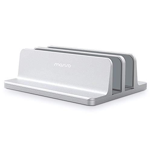 Mosiso ノートパソコン スタンド ダブルU型 2台収納...